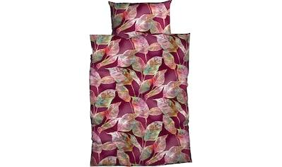 CASATEX Bettwäsche »Sura«, Blätter kaufen