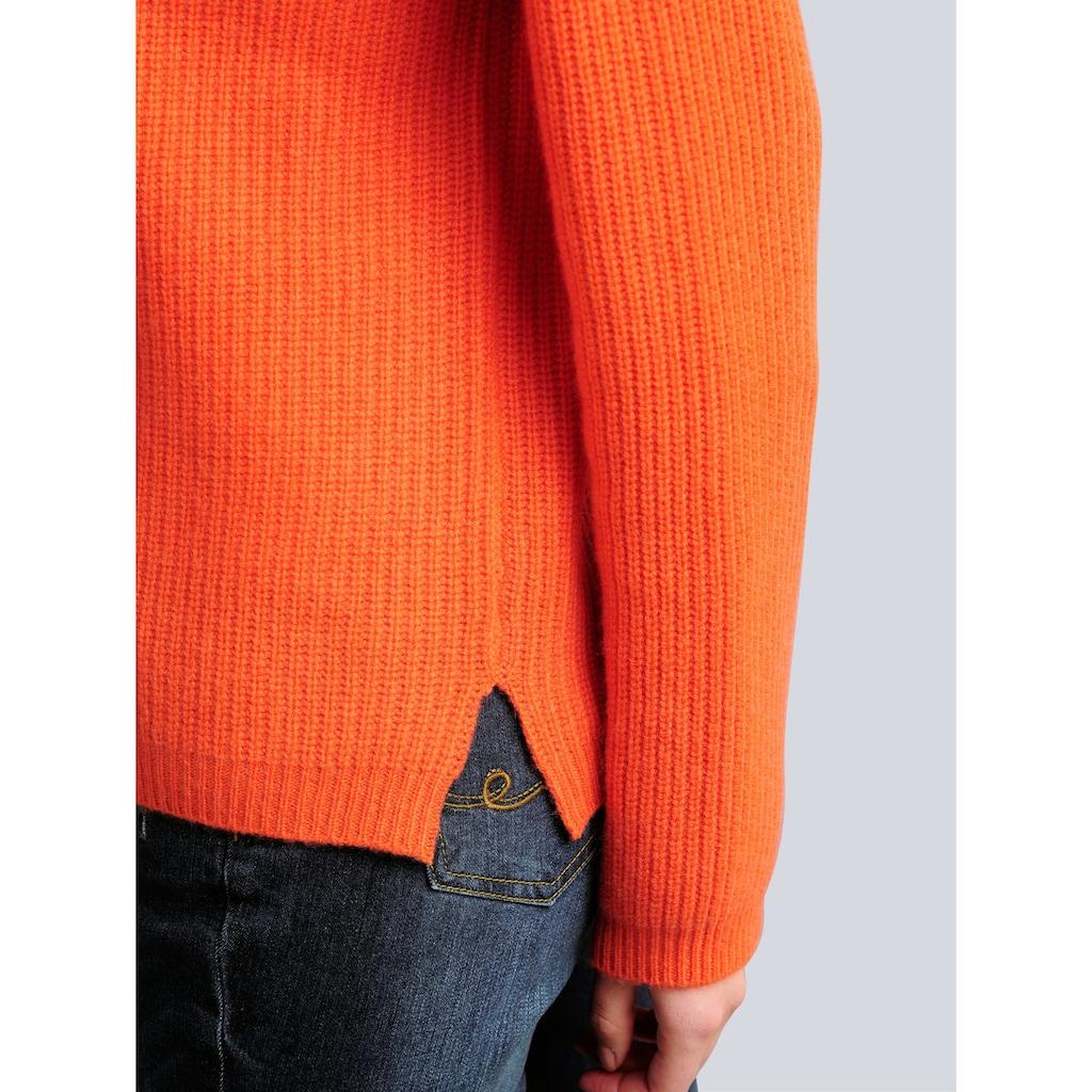Alba Moda Strickjacke, in reduzierter Oversized-Form