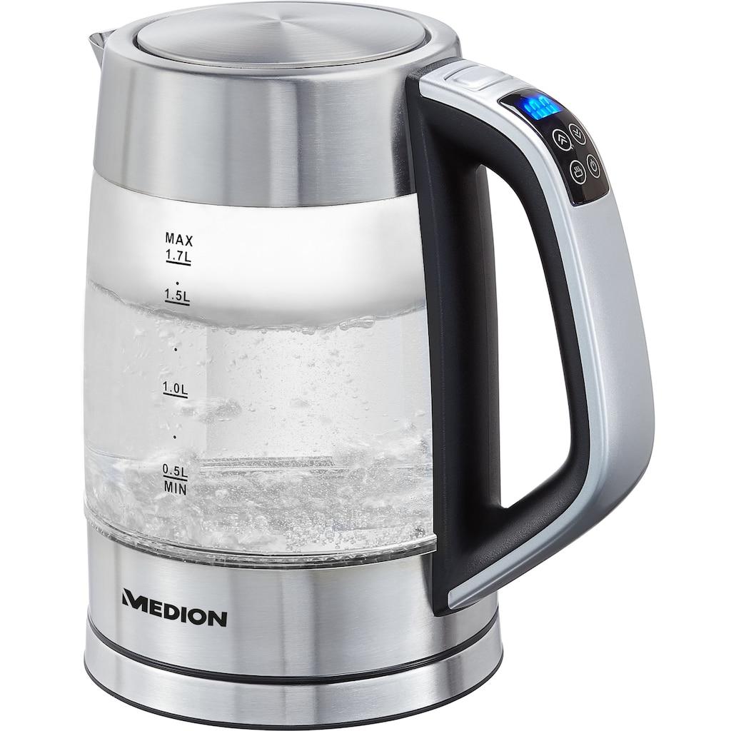 Medion® Wasserkocher »MD 10210«, 1,7 l, 2200 W