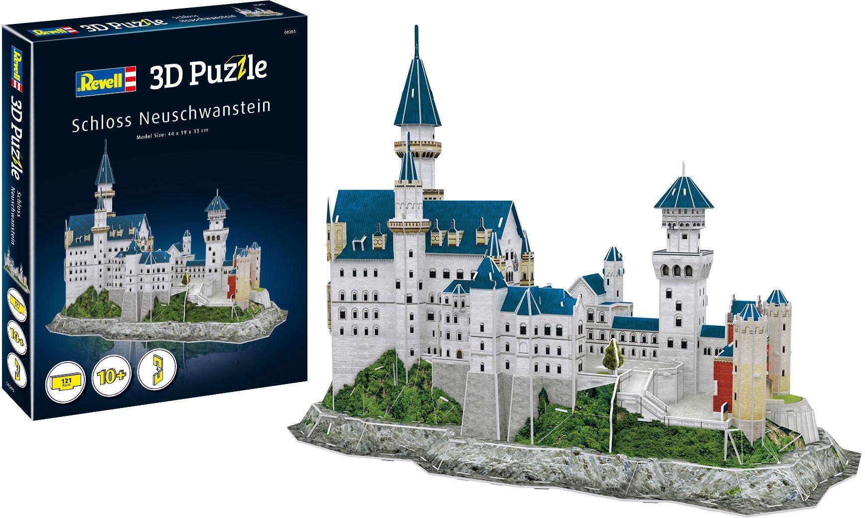 Revell 3D-Puzzle Schloss Neuschwanstein bunt Kinder Ab 9-11 Jahren Altersempfehlung