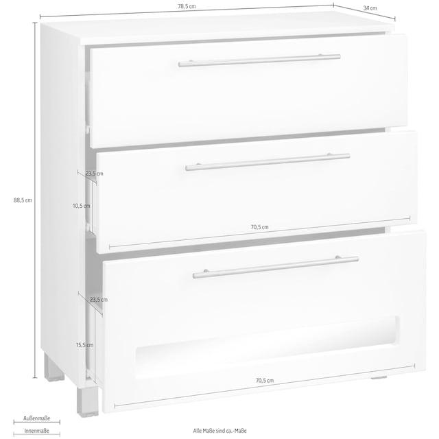 WELLTIME Badkommode »Tauri«, Breite 78,5 cm