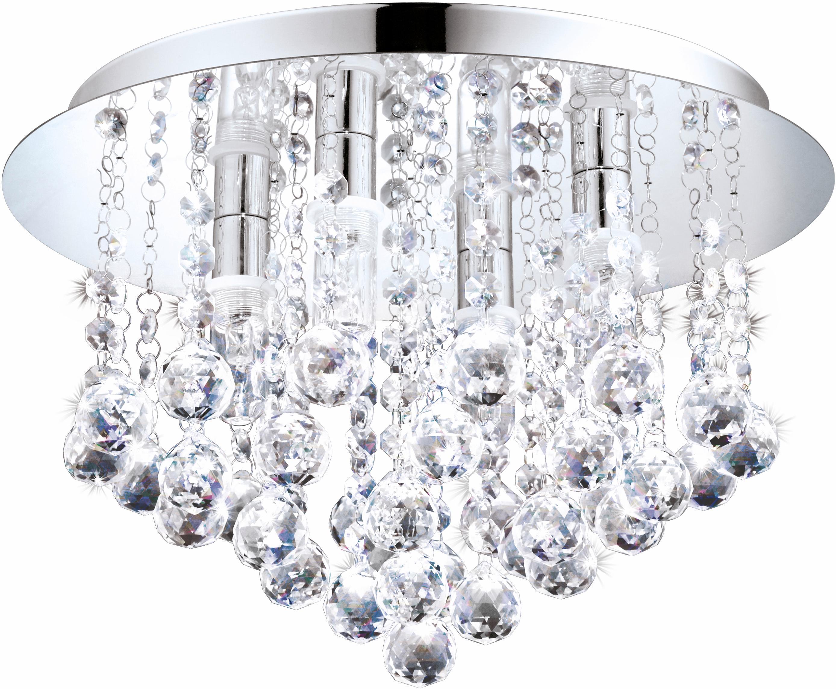 Eglo LED Deckenleuchte Badleuchte 4flg ALMONTE