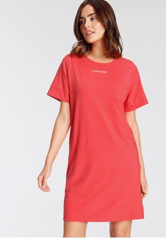Calvin Klein Nachthemd, mit kleinem Frontdruck kaufen