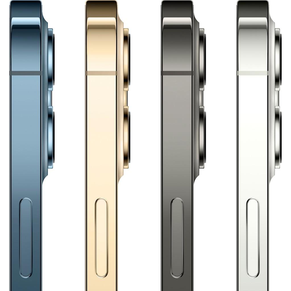 """Apple Smartphone »iPhone 12 Pro Max - 256GB«, (17 cm/6,7 """" 256 GB Speicherplatz, 12 MP Kamera), ohne Strom Adapter und Kopfhörer, kompatibel mit AirPods, AirPods Pro, Earpods Kopfhörer"""