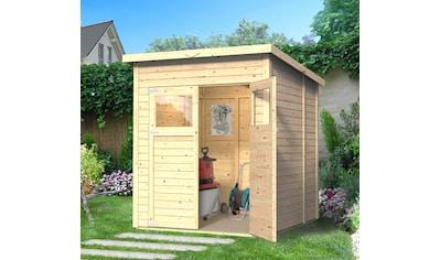 KONIFERA Gartenhaus »Amrum 2«, BxT: 197x193 cm, inkl. Fußboden kaufen