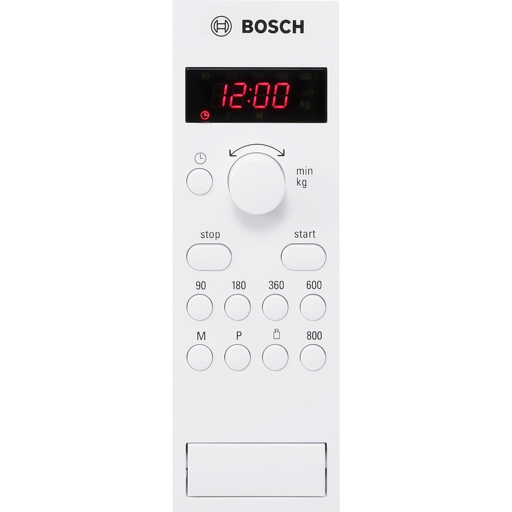 BOSCH Einbau-Mikrowelle »HMT75M551«, Mikrowelle, 800 W, Ausführung für 50 cm breiten Oberschrank