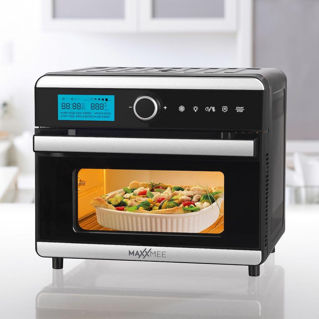 MAXXMEE Minibackofen »Digital 18l 1550W«, Heißluft-Ober-/Unterhitze, 1500 W