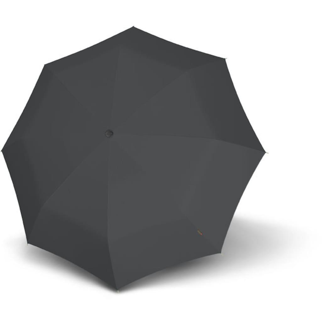 Knirps® Taschenregenschirm »T.200 Medium Duomatic, Grey«