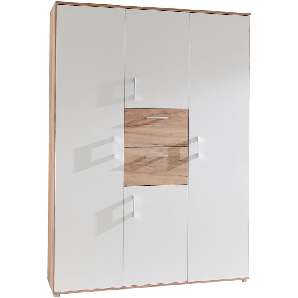 arthur berndt Babyzimmer-Komplettset »Anna«, (Set, 3 St.), Made in Germany; mit Kinderbett, Schrank und Wickelkommode
