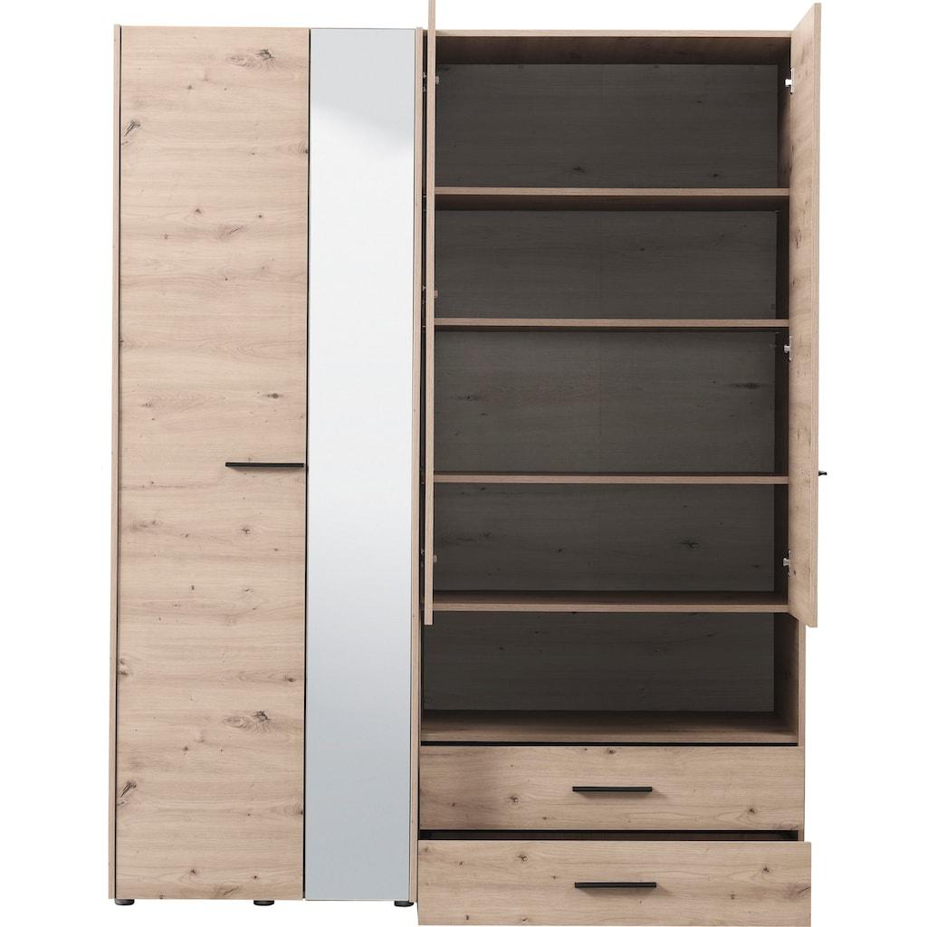 Kleiderschrank »Leon«, mit Spiegel