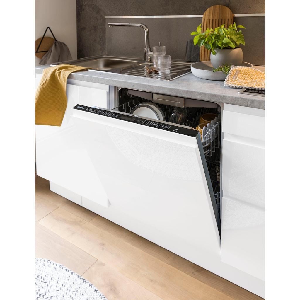 OPTIFIT Küchenzeile »Avio«, Premium-Küche, ohne E-Geräte, mit Soft-Close-Funktion, Vollauszügen, 38 mm starker Arbeitsplatte und hochwertigen Hochglanz-Fronten, Breite 330 cm