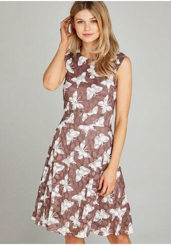 Apricot Meshkleid »Dot Mesh A-Line Dress«, mit Schmetterlingen kaufen