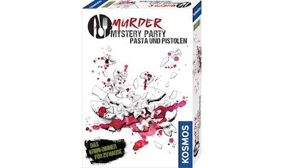 """Kosmos Spiel, """"Murder Mystery Party  -  Pasta und Pistolen"""" kaufen"""