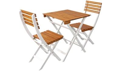 indoba Balkonset »Nizza«, (3 tlg.), Bistro Set - IND-70168-BISE3 kaufen