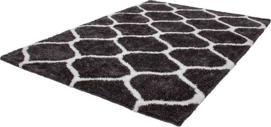 Hochflor-Teppich Grace 802 LALEE rechteckig Höhe 40 mm handgewebt