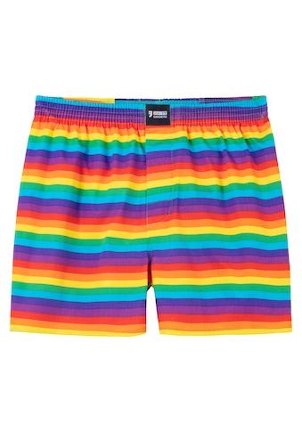 HAPPY SHORTS Webboxer »Regenbogen« kaufen