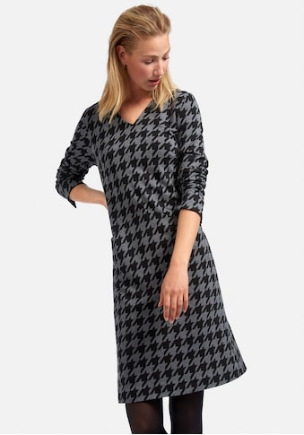 MYBC Jerseykleid »Jersey-Kleid«, mit Hahnentritt-Design kaufen