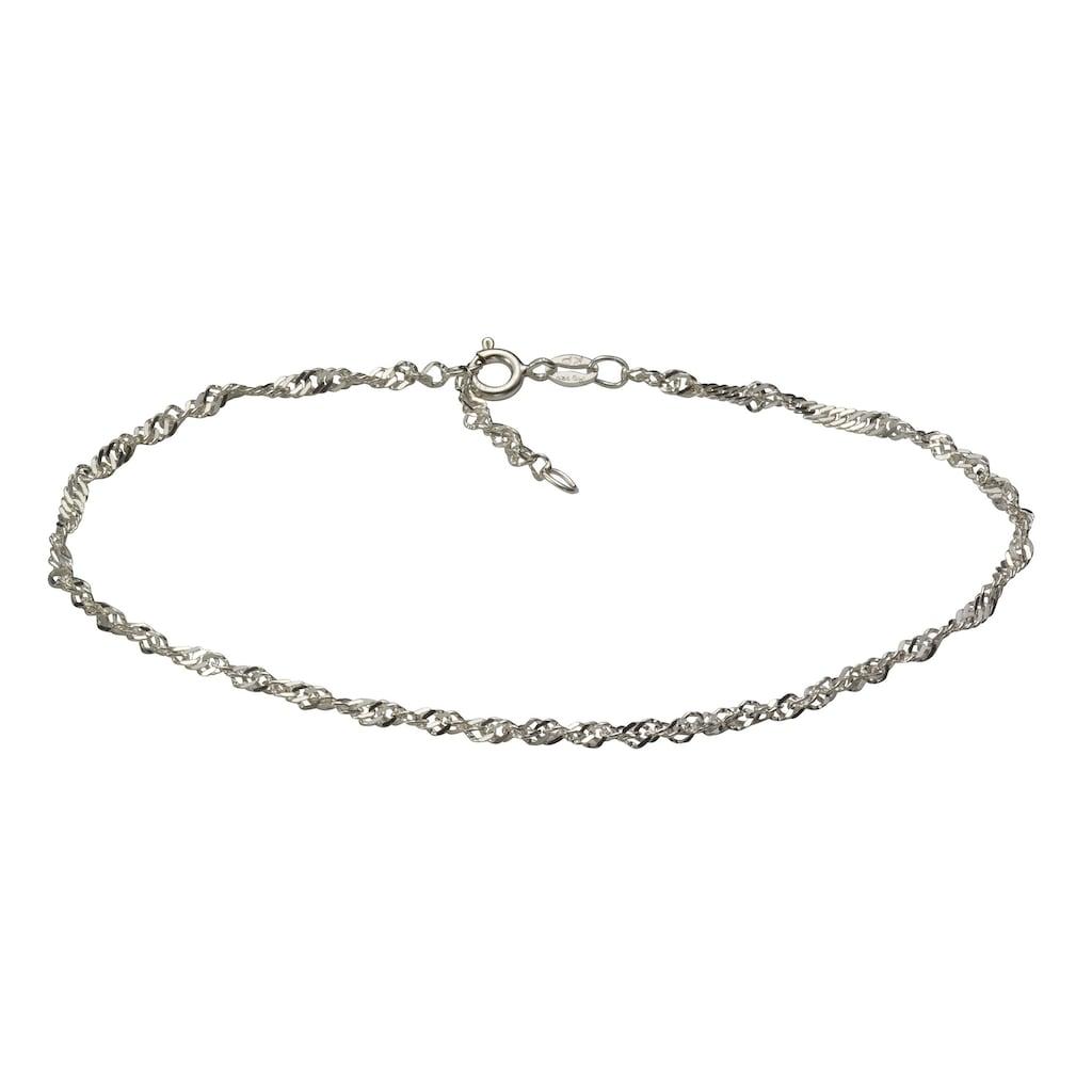 Vivance Fußkette »925/- Sterling Silber rhod.«, Fusskette
