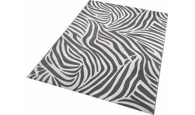 Wecon home Teppich »Zebra«, rechteckig, 8 mm Höhe, Wohnzimmer kaufen