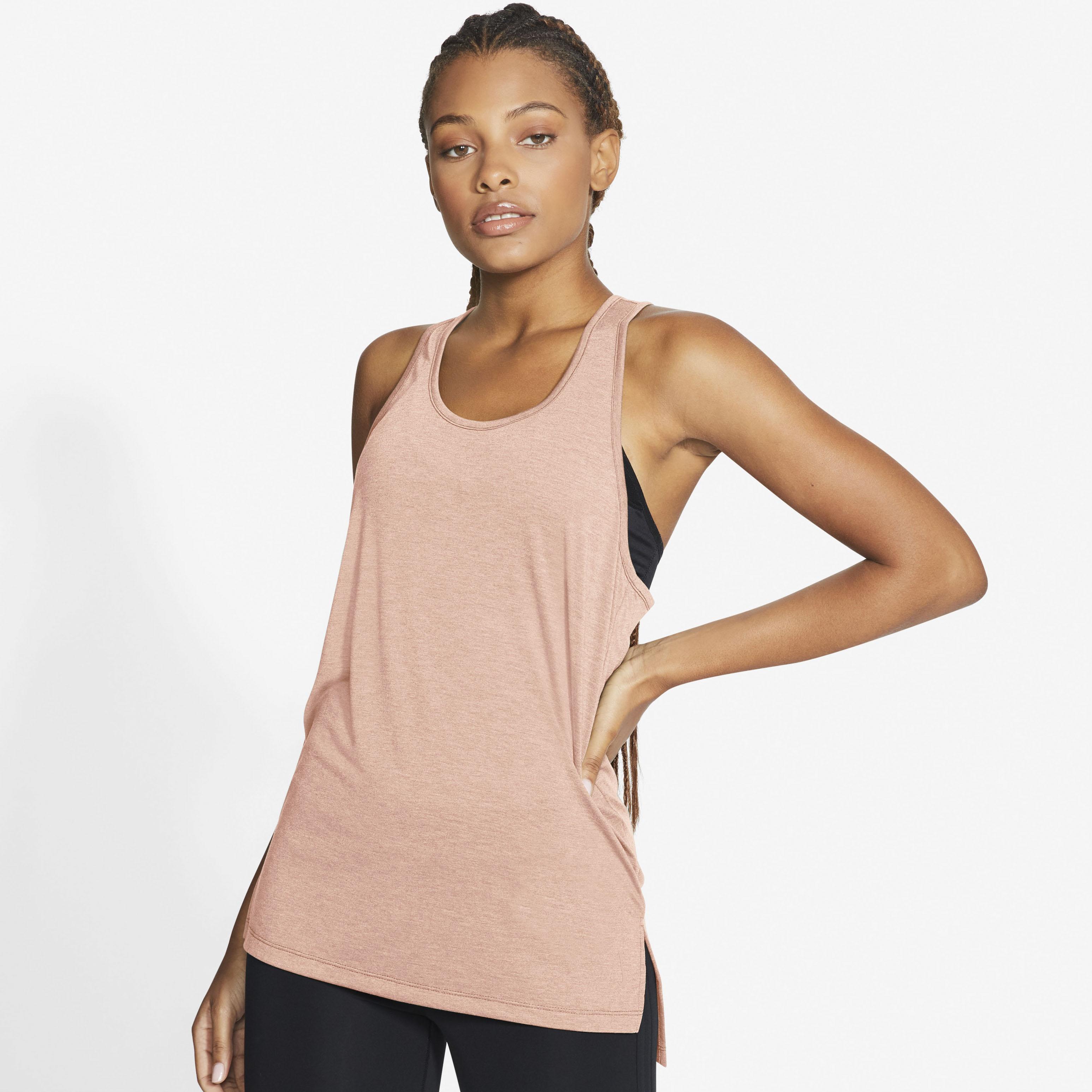 Nike Yogatop Yoga Women's Tank orange Damen Tops