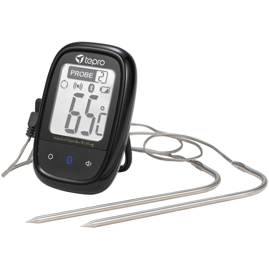 Tepro Grillthermometer, mit Bluetooth
