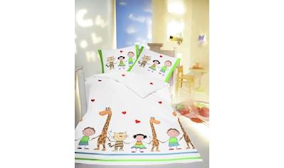 fleuresse Kinderbettwäsche »Kids«, Kindern gehört die Welt! kaufen