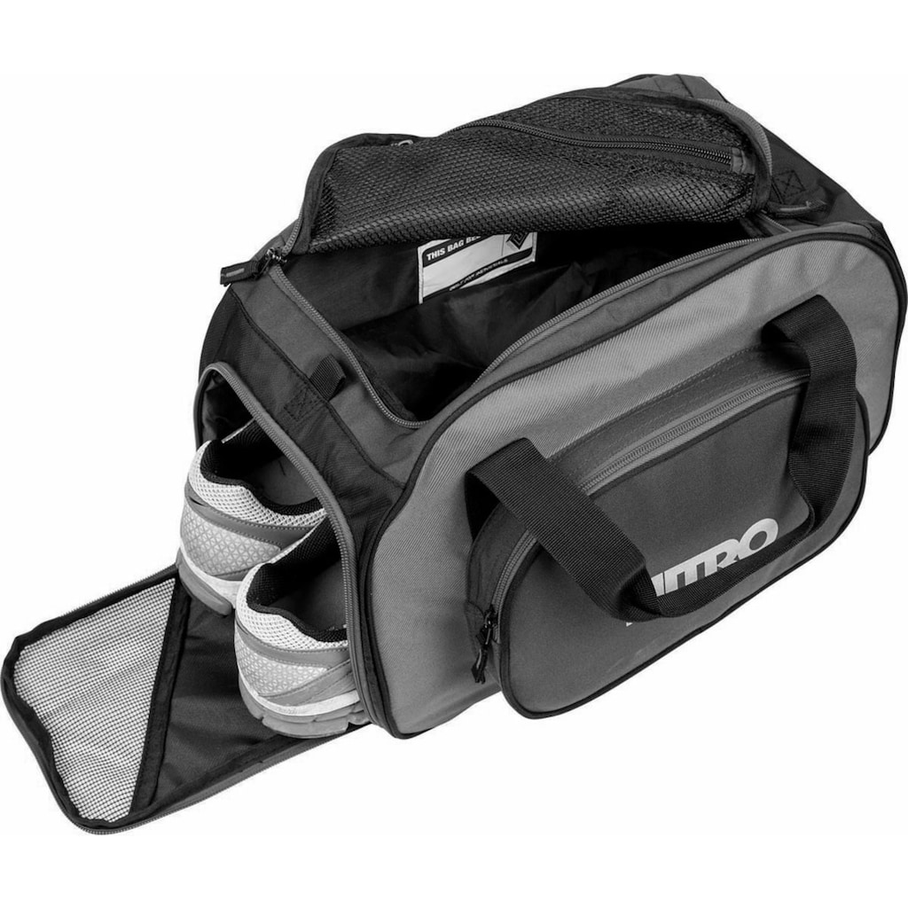 NITRO Sporttasche »Duffle Bag XS Black Checker«, mit Schuhfach