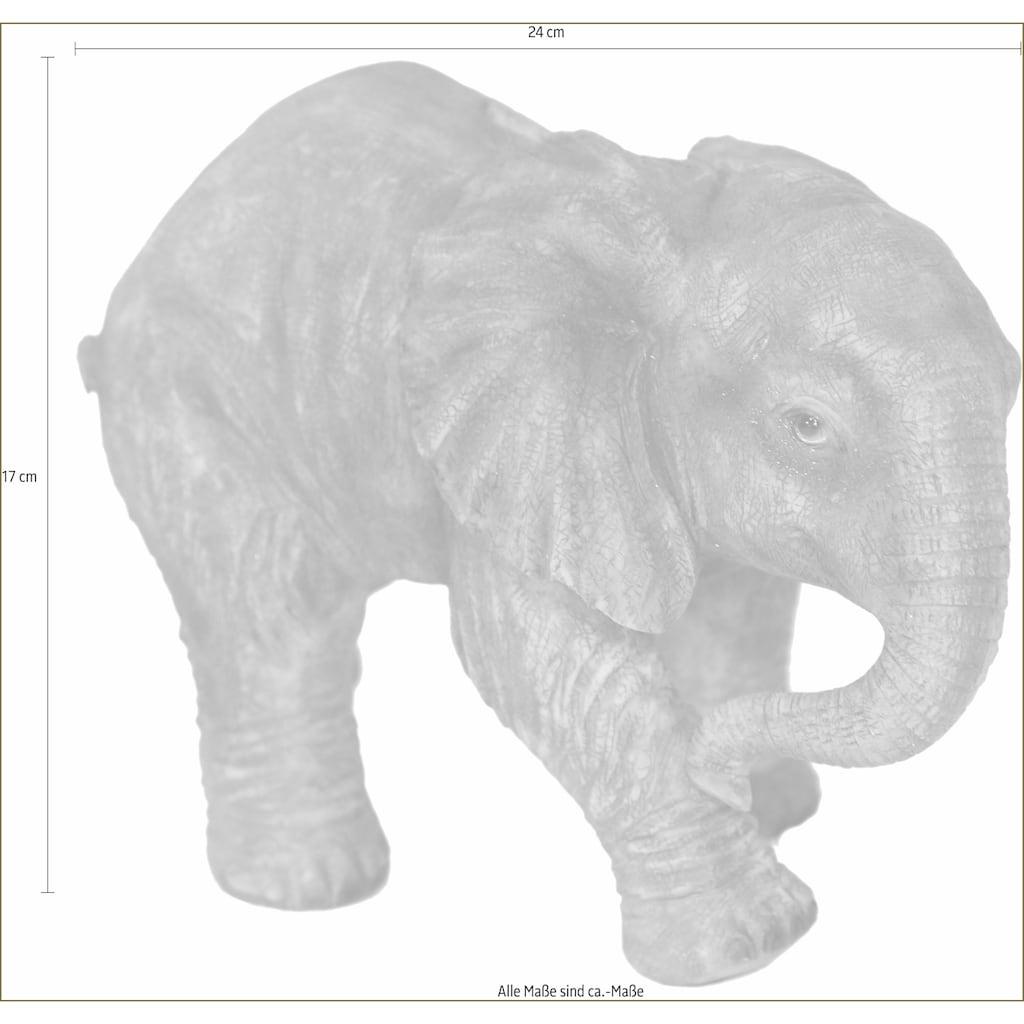Casa Collection by Jänig Spardose »Elefant laufend, Breite ca. 25cm, Höhe ca. 17cm«