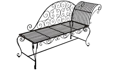 GARDEN PLEASURE Gartenbank »Lamington«, Stahl, 163x47,5x87 cm kaufen