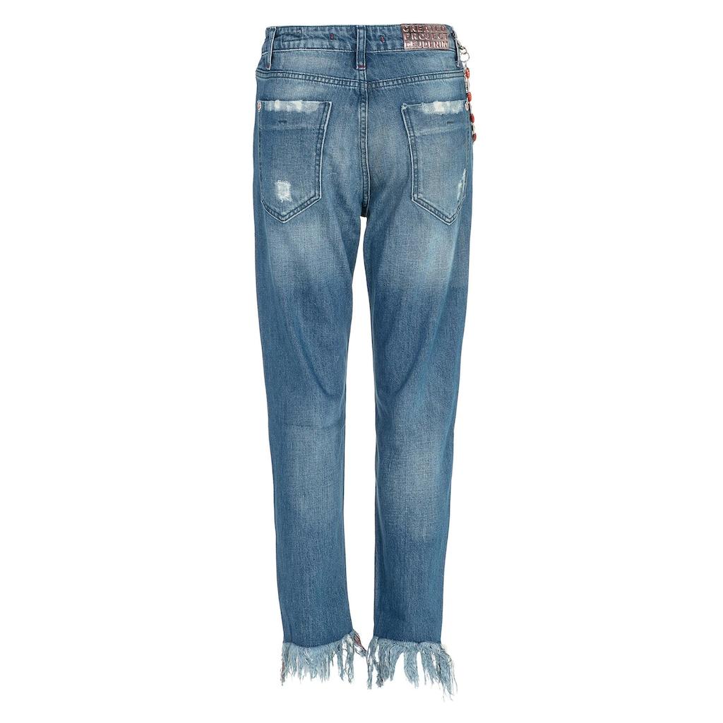 Cipo & Baxx Bequeme Jeans, mit besonderem Cut-Out-Look in Slim Fİt