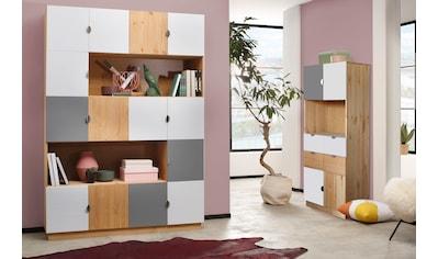 my home Regal »Undine«, 4 Türen, 4 Schubladen kaufen