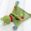 Sigikid Schnuffeltuch »Flecken Frog«, Made in Europe