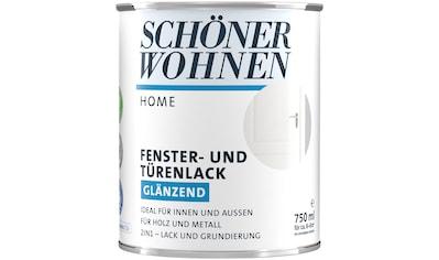 SCHÖNER WOHNEN-Kollektion Lack »Home Fenster- und Türenlack«, glänzend kaufen