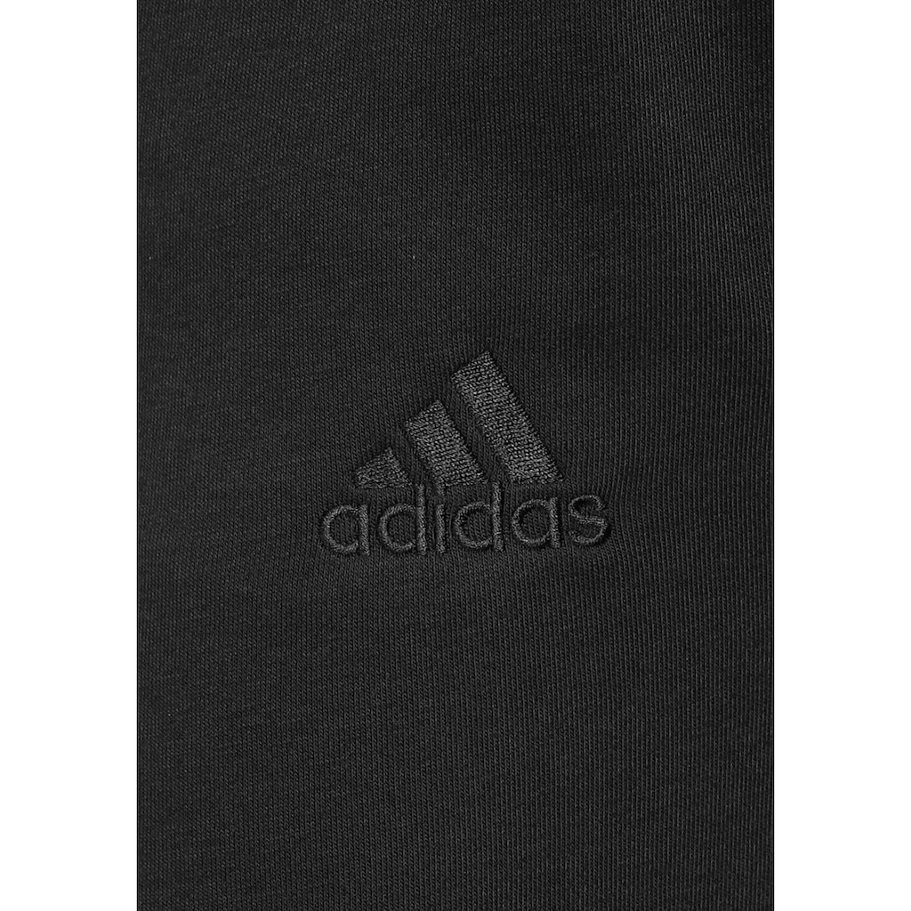 adidas Performance Trainingshose »ESSENTIALS FRENCH TERRY TAPERED ELASTIC CUFF LOGO«