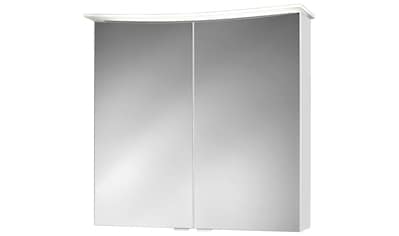 JOKEY Spiegelschrank »Lightbend«, weiss, 75 cm Breite kaufen