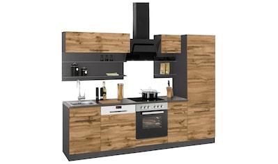 HELD MÖBEL Küchenzeile »Tulsa«, mit E - Geräten, Breite 270 cm kaufen