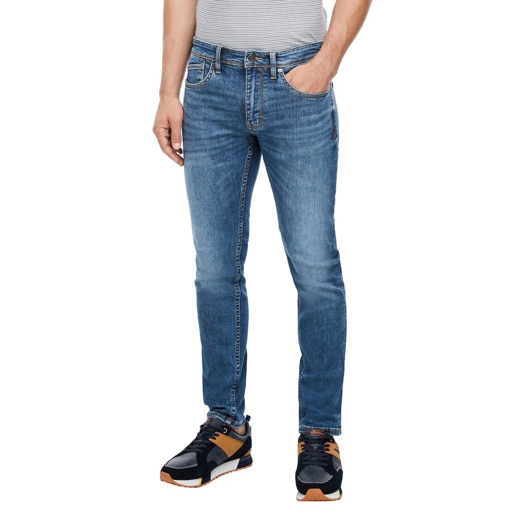 s.Oliver Slim-fit-Jeans »KEITH«, mit authentischer Waschung