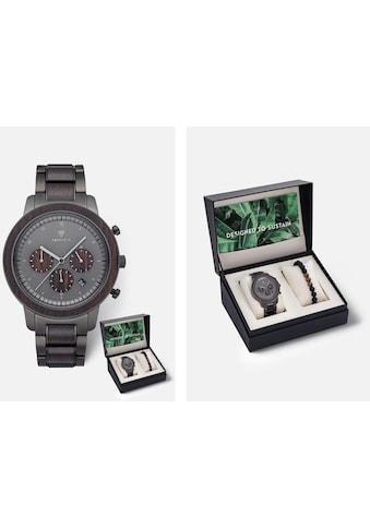 KERBHOLZ Chronograph »Maximilian Black Sandalwood, SET« (Set, 2 tlg.) kaufen