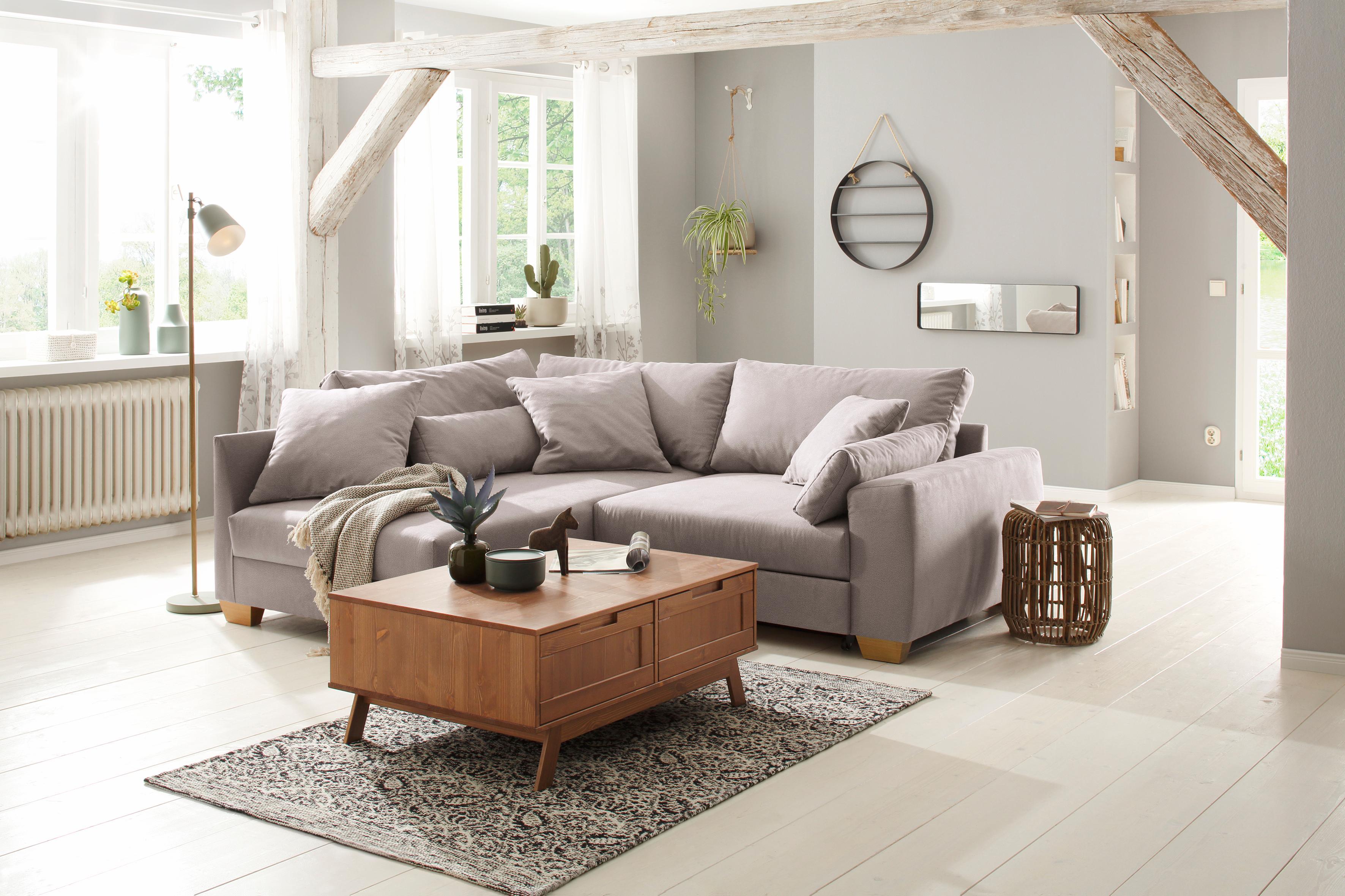 Home affaire Couchtisch Ohio im traditionellem Design mit zwei Klappen für viel Stauraum Breite 100 cm