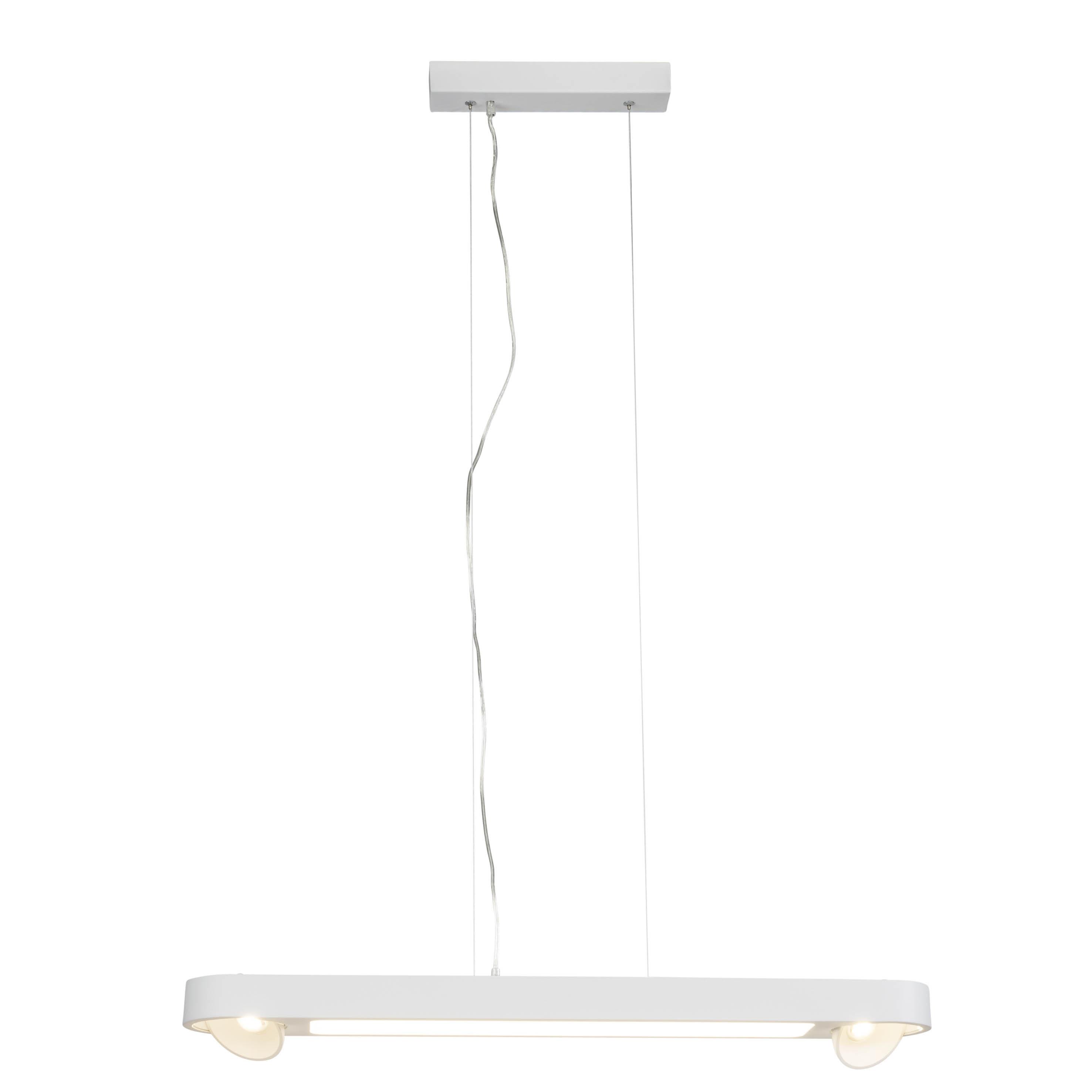 AEG Leca LED Pendelleuchte 85cm 4flg weiß
