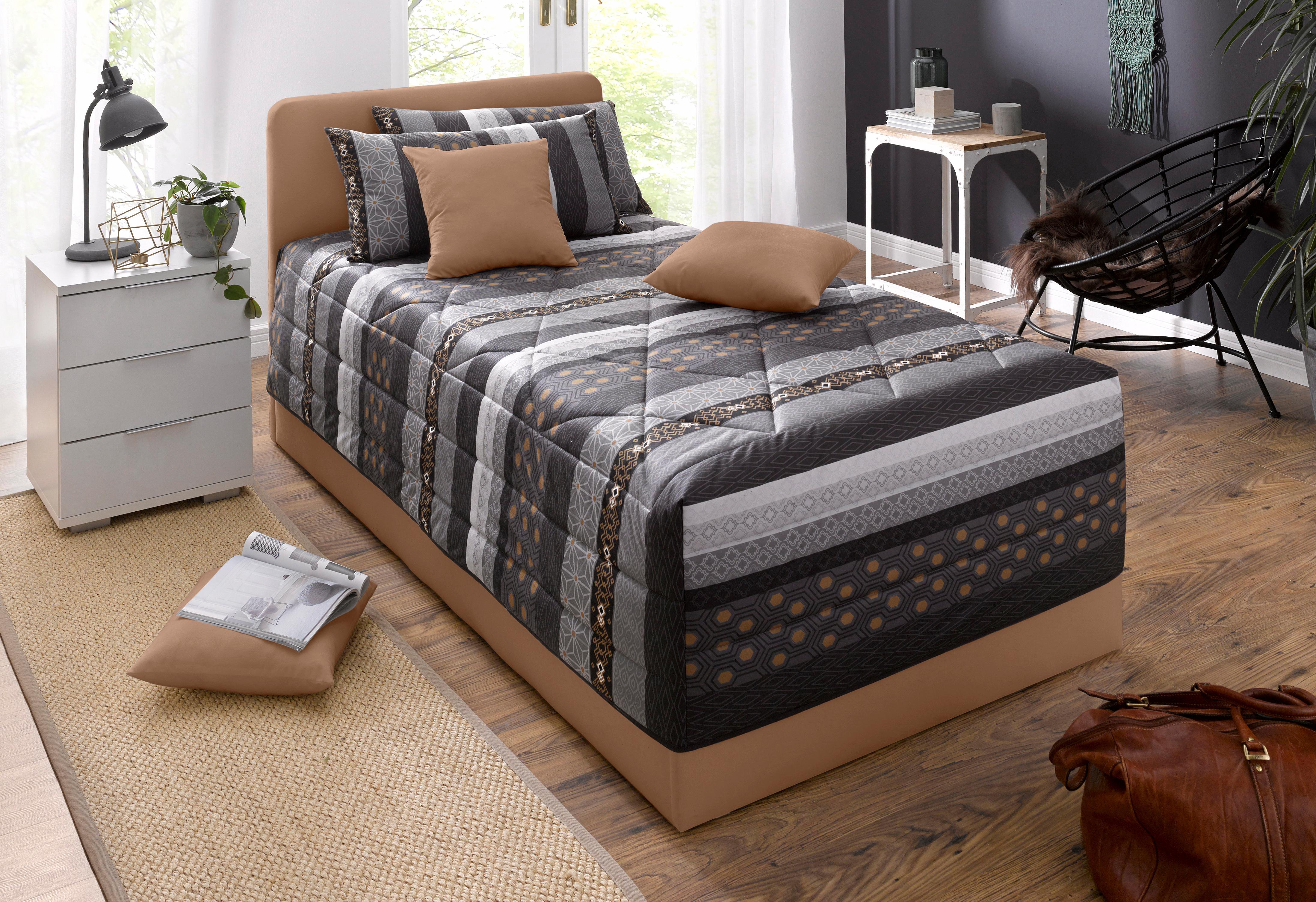 Westfalia Schlafkomfort Polsterbett wahlweise mit Bettkasten in 2 Höhen und diversen Ausführungen