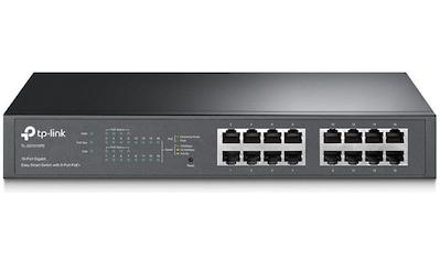TP - Link PoE, »TL - SG1016PE 16 - Port Gigabit Desktop POE« kaufen