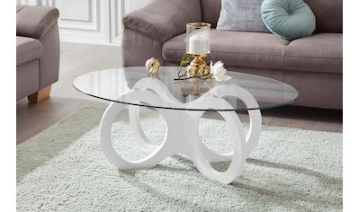 INOSIGN Couchtisch, in ovaler Form, elegant kaufen