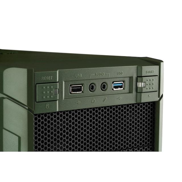 Hyrican Multimedia PC Ryzen 5 3400G 8GB RAM 480GB SSD Radeon RX Vega 11 »Multimedia PC 6435«