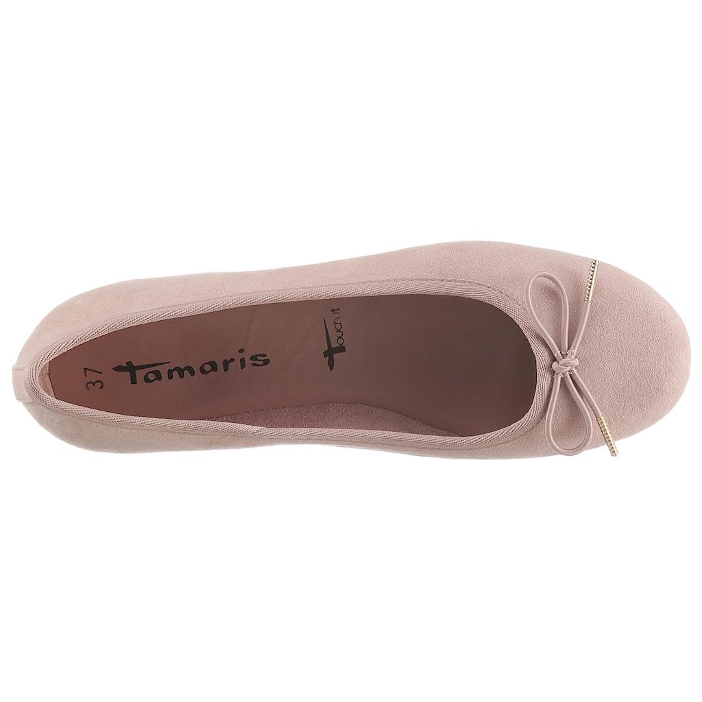 Tamaris Ballerina »HEPRUN«, mit gepolsterter Innensohle