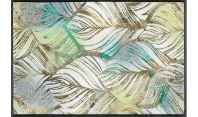 wash+dry by Kleen-Tex Fußmatte »Lapas«, rechteckig, 7 mm Höhe, Fussabstreifer,... kaufen