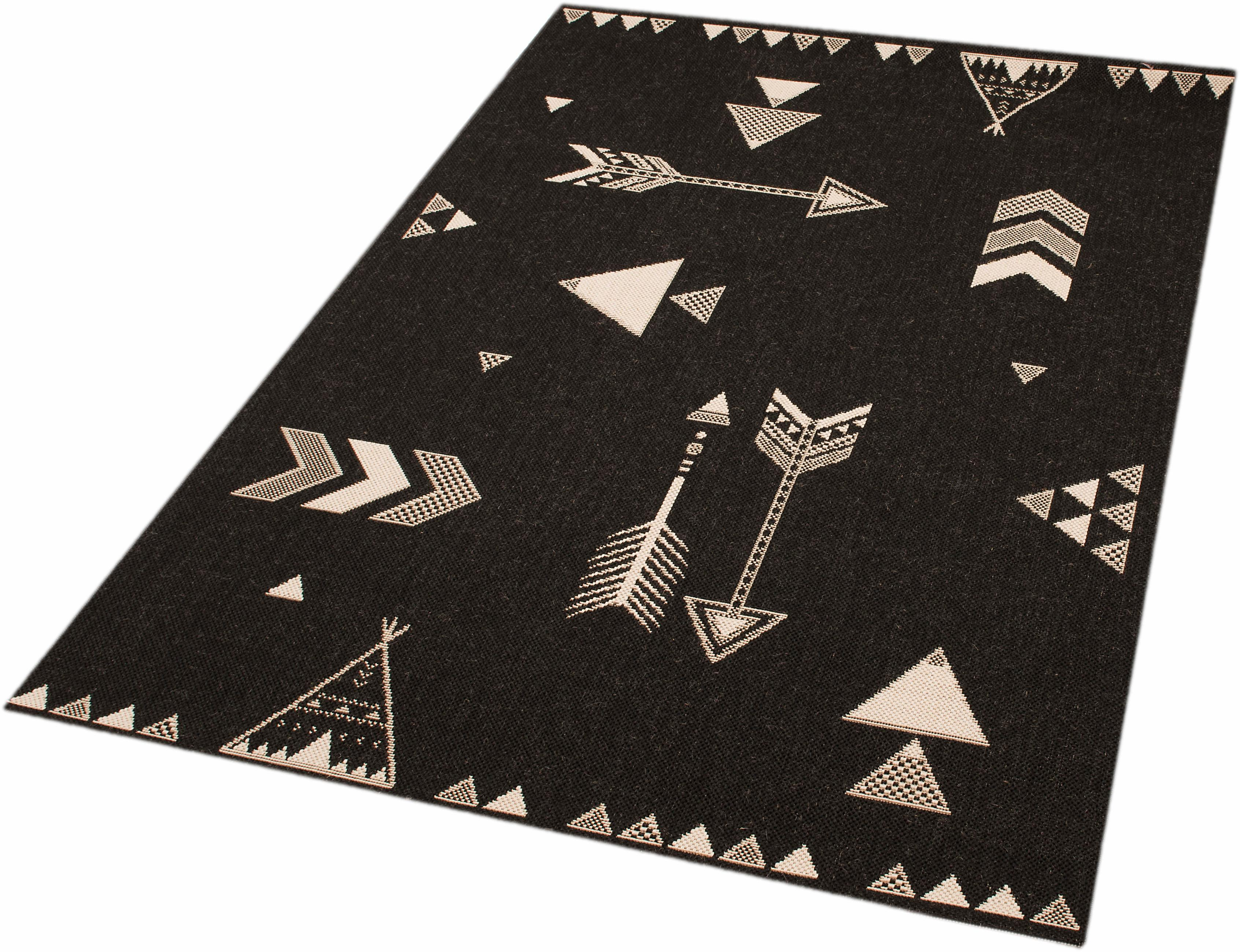 Teppich Arrows Barney Zala Living rechteckig Höhe 4 mm maschinell gewebt