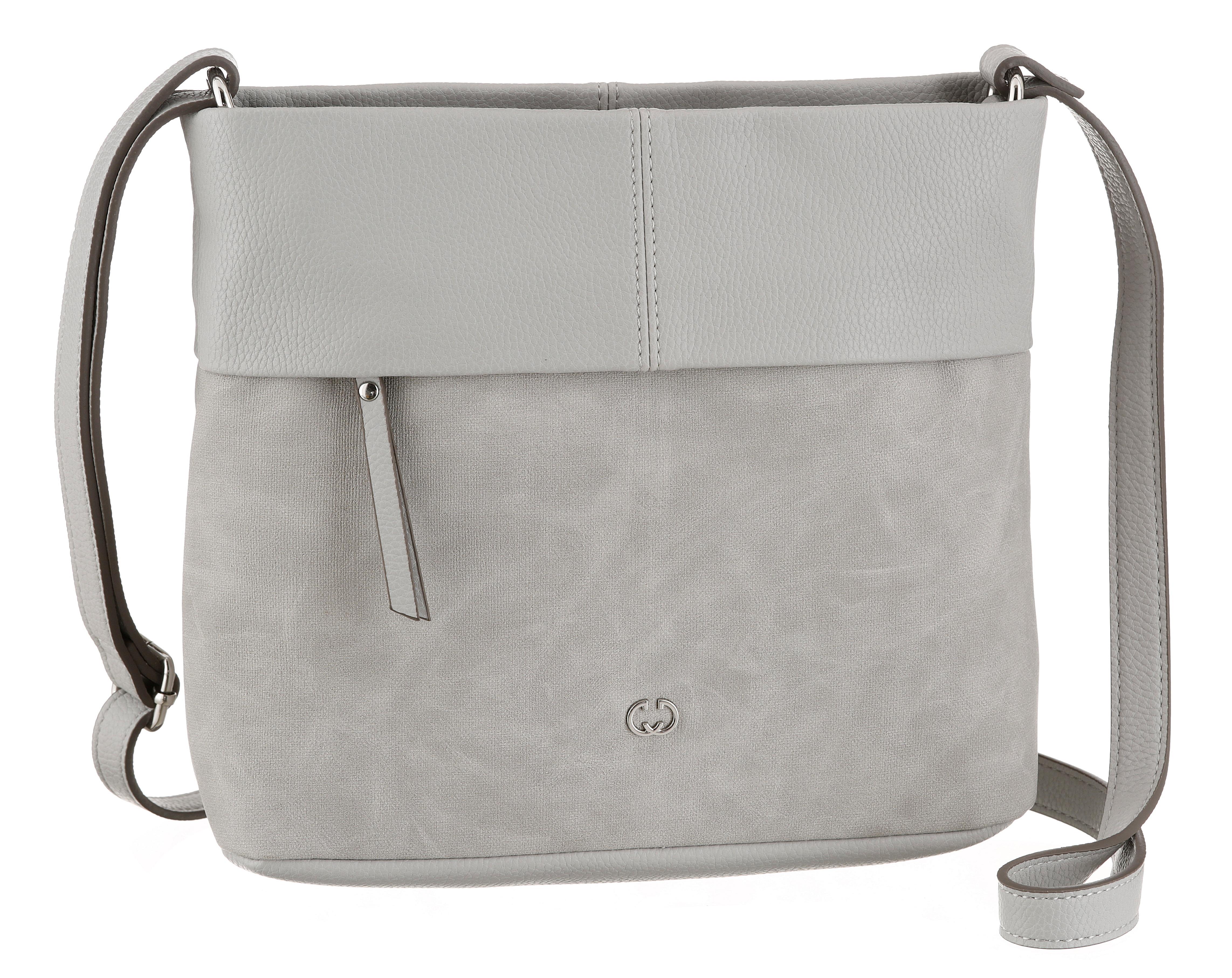 gerry weber bags -  Umhängetasche keep in mind shoulderbag mhz, mit Reißverschluss Vortasche