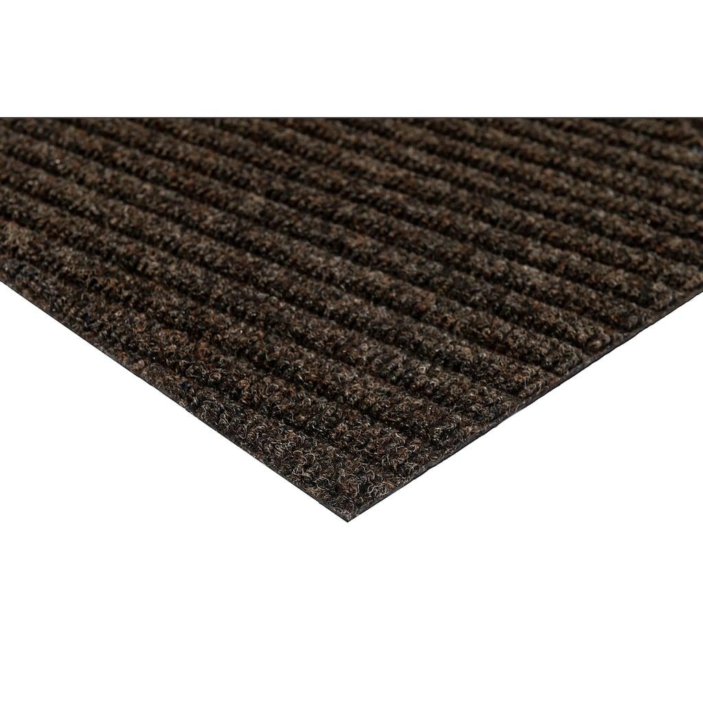 wash+dry by Kleen-Tex Fußmatte »Stripes«, rechteckig, 8 mm Höhe, Schmutzfangmatte, In- und Outdoor geeignet, waschbar