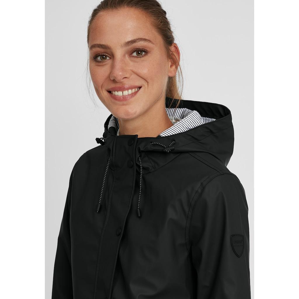 OXMO Regenjacke »Becky«, Übergangsjacke aus wetterfestem Material